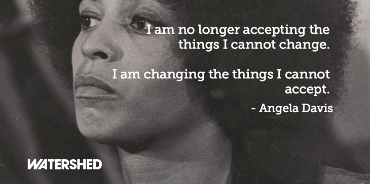 Angela Davis and words May 15
