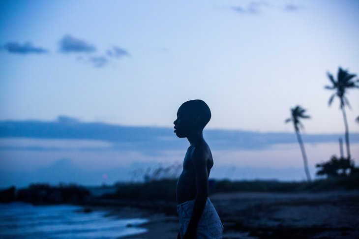 Film still from 'Moonlight' by Barry Jenkins. A24.